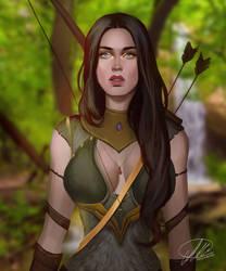 Commission: Venadia by HalChroma