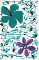 Nail Polish Flowers by JoyfulJ