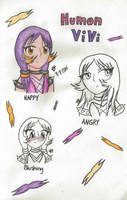 Human ViVi by JoyfulJ
