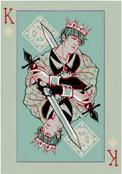 King Card by MyDearBasil