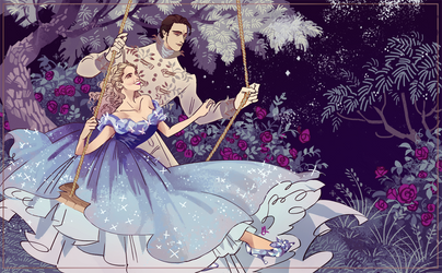 Cinderella Giveaway Prize by MyDearBasil