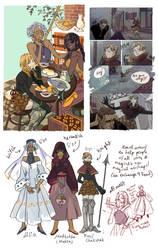 Medieval!au by MyDearBasil