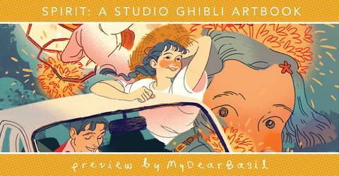 Ghibli Zine Preview by MyDearBasil