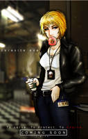 Parasite Eve- Cops and Donuts by Dane-of-Celestia