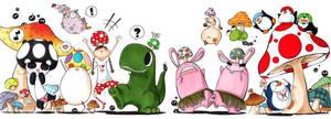eeCAFE+ : Shroom'd by cartoongirl7