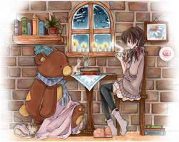 A Coffee Love by cartoongirl7
