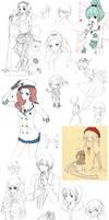 SKETCH DUMP by cartoongirl7