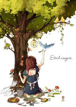 Etchings by cartoongirl7