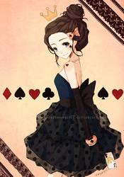Queen of Hearts by cartoongirl7