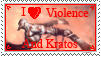 Stamp- I love violence by Jerohan
