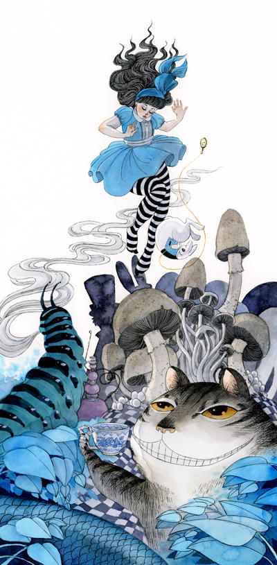Alice in Wonderland by reneenault