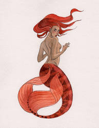 Mermaid Commissions are open, this week only! by reneenault