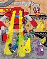 Robots Attack!!! by Jonny-Aleksey
