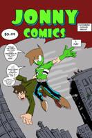 Jonny Variant Cover (Amazing Fantasy #15 Homage) by Jonny-Aleksey