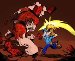 I'm Gonna Wreck YOU! by Jonny-Aleksey
