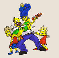 The Simpsons by Jonny-Aleksey