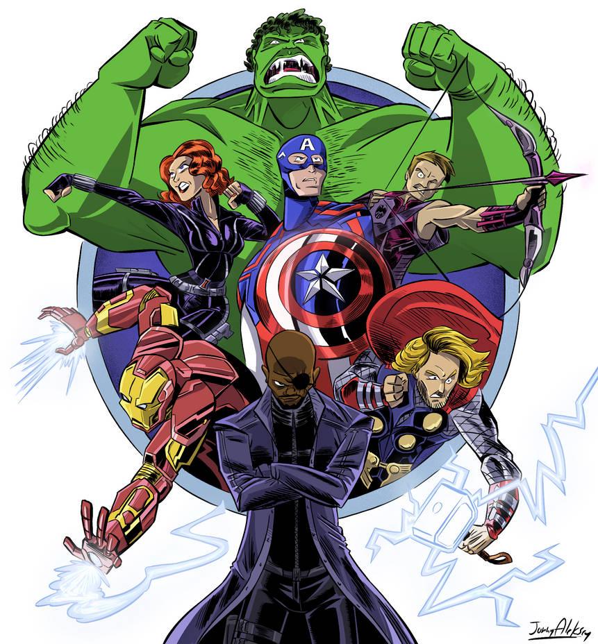Marvel Cinematic Universe (Phase 1) by Jonny-Aleksey