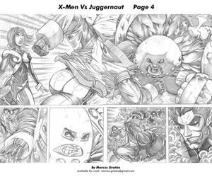 X-Men vs Juggernaut 04 by marcosgratao