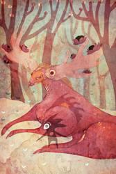 forest spirits by RedGella