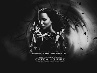 The Hunger Games Catching Fire Wallpaper By Seia5018 On Deviantart