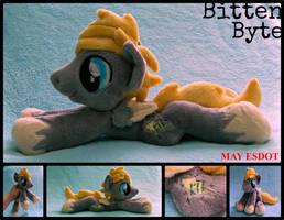 Baby Beanie Plush OC: Bitten Byte by MayEsdot