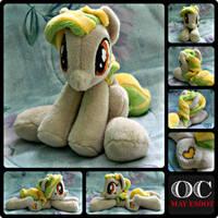 Grannie's OC Baby Beanie MLP Plush Pony by MayEsdot
