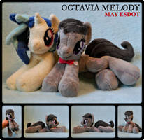 Octavia Melody Baby Beanie MLP Plush by MayEsdot