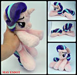 Starlight Glimmer MLP Baby Beanie Plushie by MayEsdot