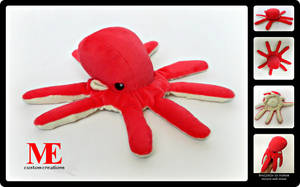 Octopus Plush Beanie by MayEsdot