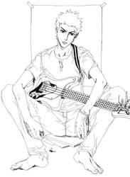 ultimate guitar hero by burukutong
