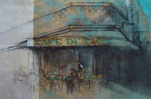 Cafe de Flore II by rpintor