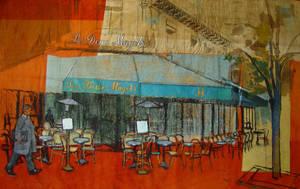 Cafe les Deux Magots by rpintor