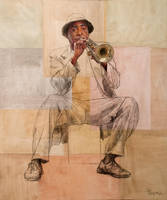 Unknown trumpeter by rpintor