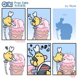 Goki - Free Cake by SkylaComics