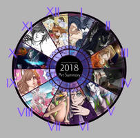 Art Summary 2018 by KarpusiA