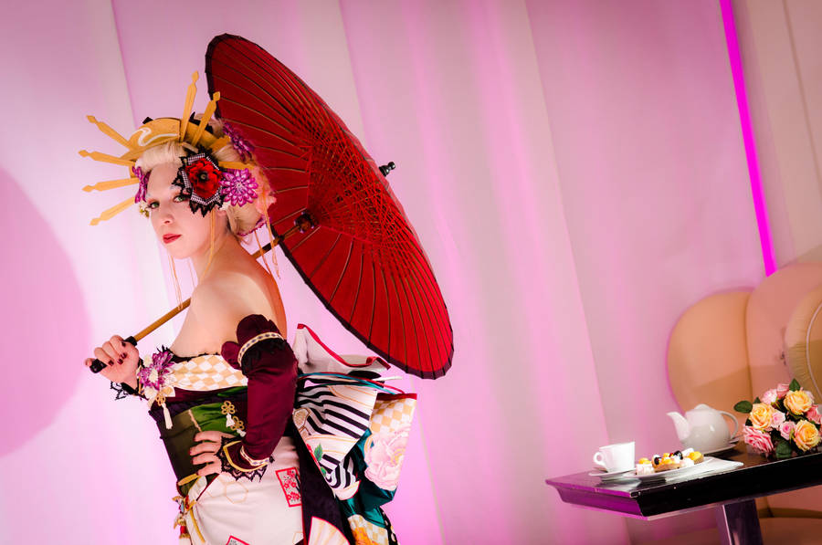 Japanese Umbrella II by suzaku3