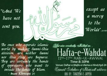 Hafta-e-Wahdat (Week of Unity) by abedy
