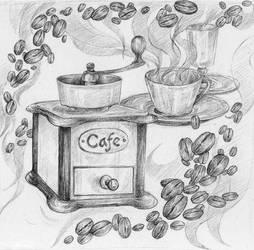 Cafe by VivianaStellata