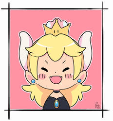 Bowsette by Cristychan96