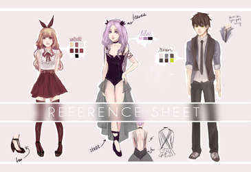 OC reference by Seojinni