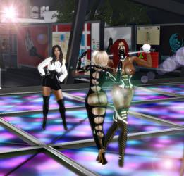 Dance Club( and the school) in Bondage City by Aksanka93