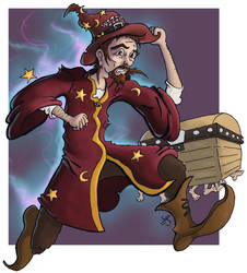 Rincewind - colours by coldangel1