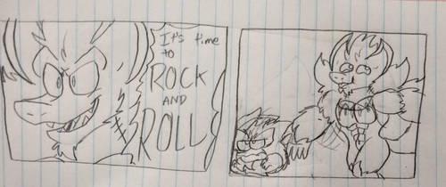 Rockriruko and Rollgro by COMIC-FIRUKO