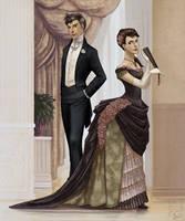 Jonas and Anya by artsangel