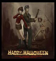 Happy Silent Hilloween by artsangel