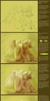 Painting Steps by artsangel