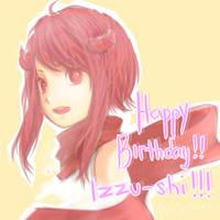 Happy Birthday Izzu-shi!!! by 0Jichan