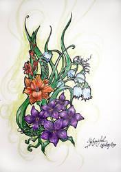 Flowers by SilentSinner666