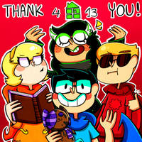 THANK YOU by Caramelkeks
