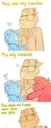 You are my sunshine by Caramelkeks